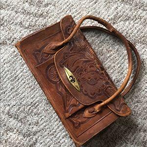 70s vintage leather bag